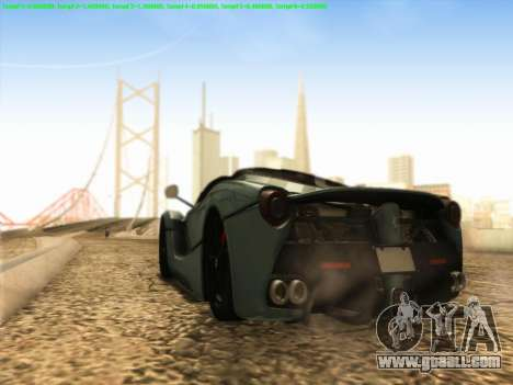 LaFerrari 2017 for GTA San Andreas