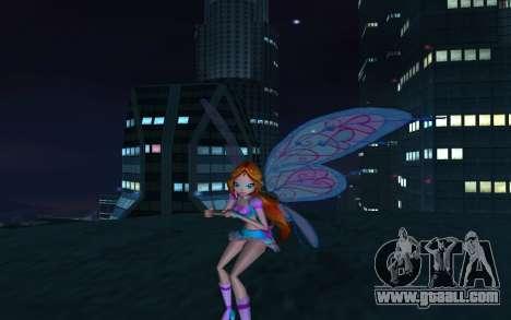 Bloom Believix from Winx Club Rockstars for GTA San Andreas fifth screenshot