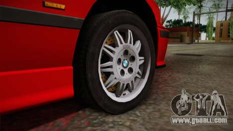 BMW 328i E36 Coupe for GTA San Andreas back view