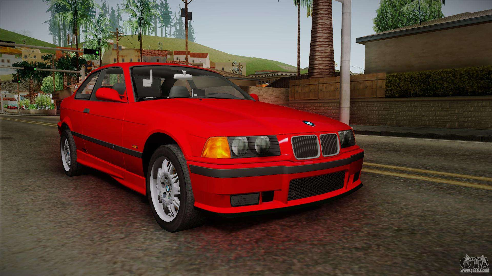 bmw 328i e36 coupe for gta san andreas. Black Bedroom Furniture Sets. Home Design Ideas