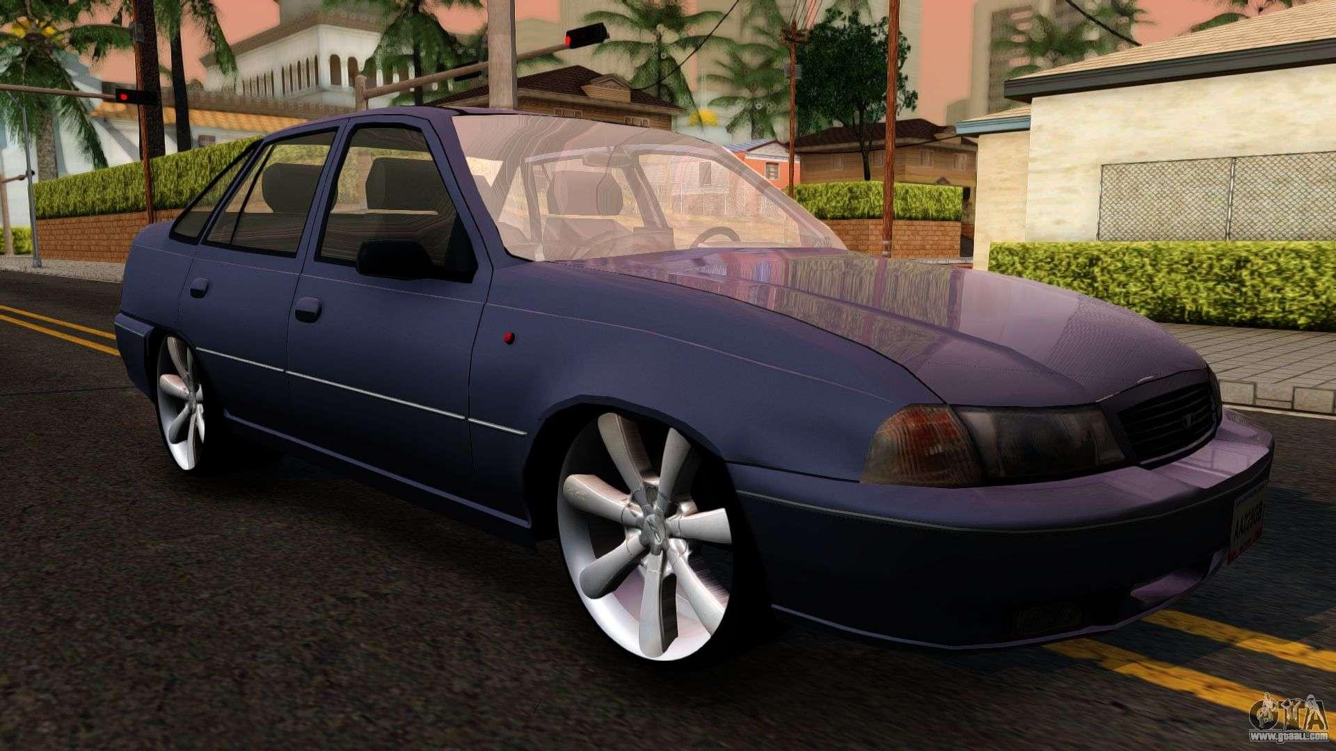 Daewoo Cielo 2001 for GTA San Andreas