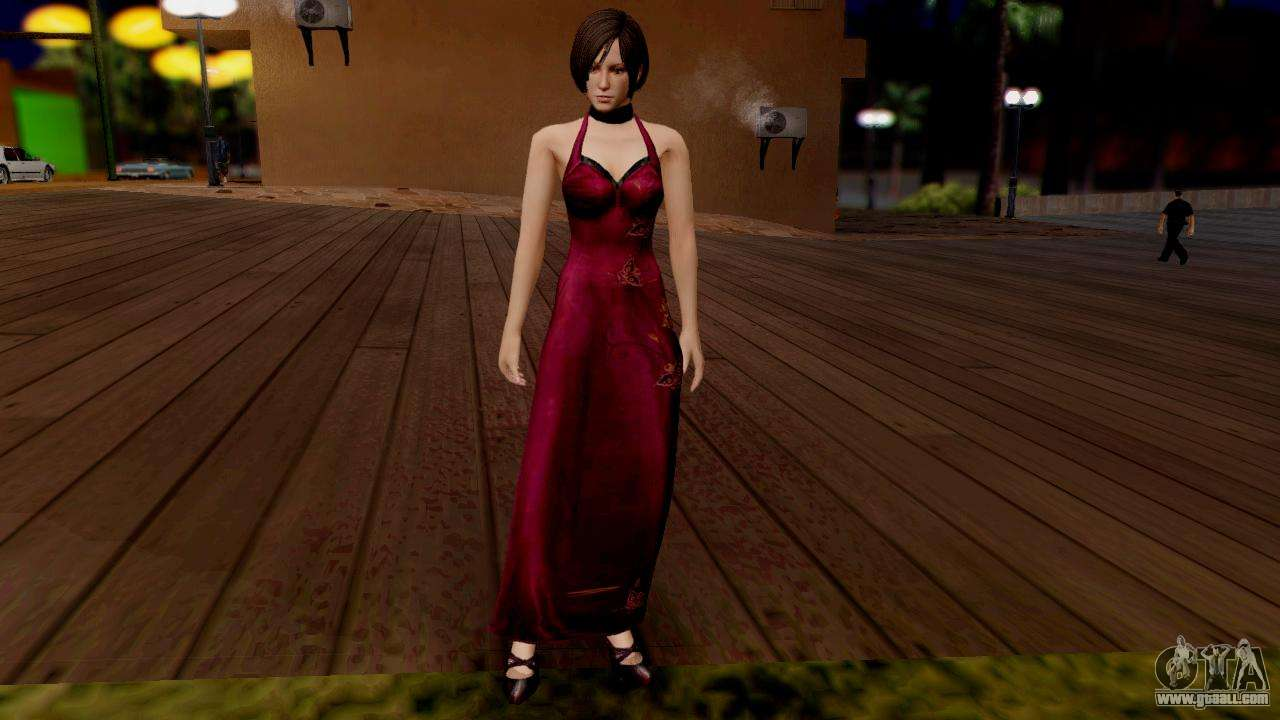 Resident Evil 6 Ada Dress For Gta San Andreas