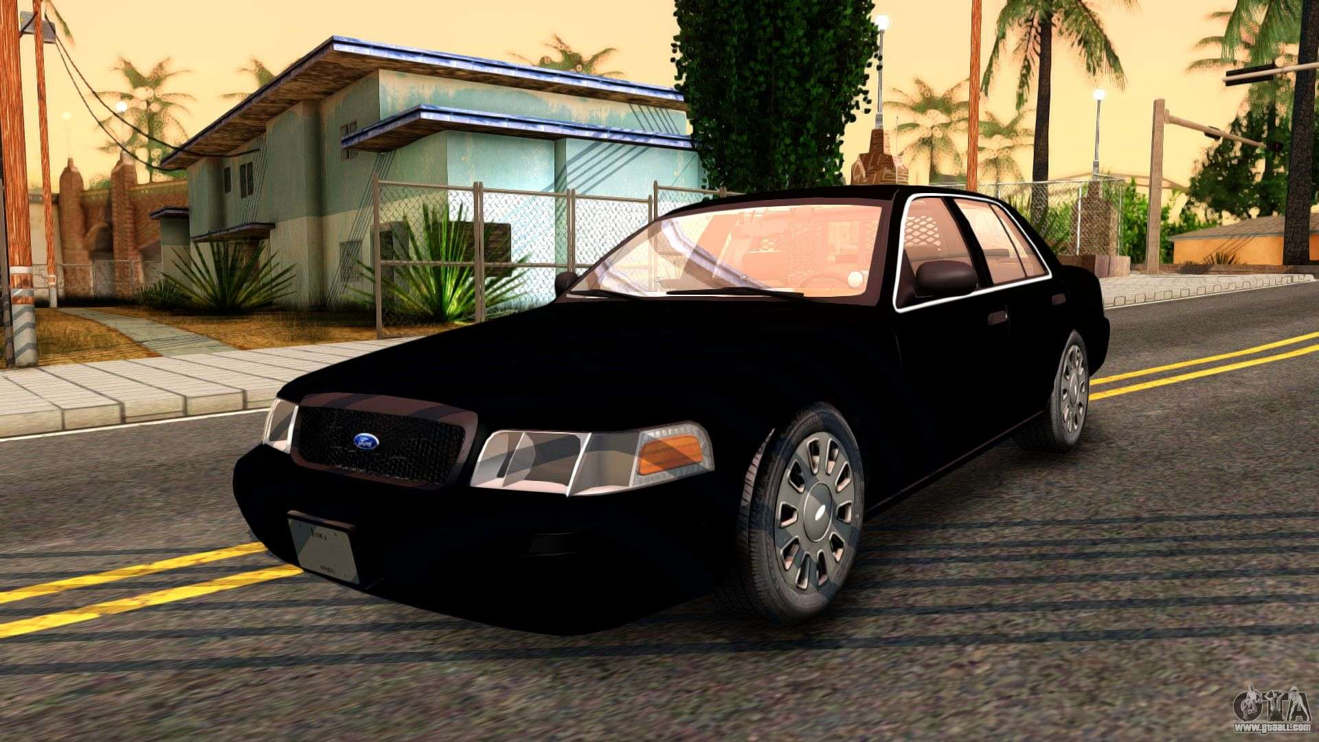 Ford Crown Victoria Detective
