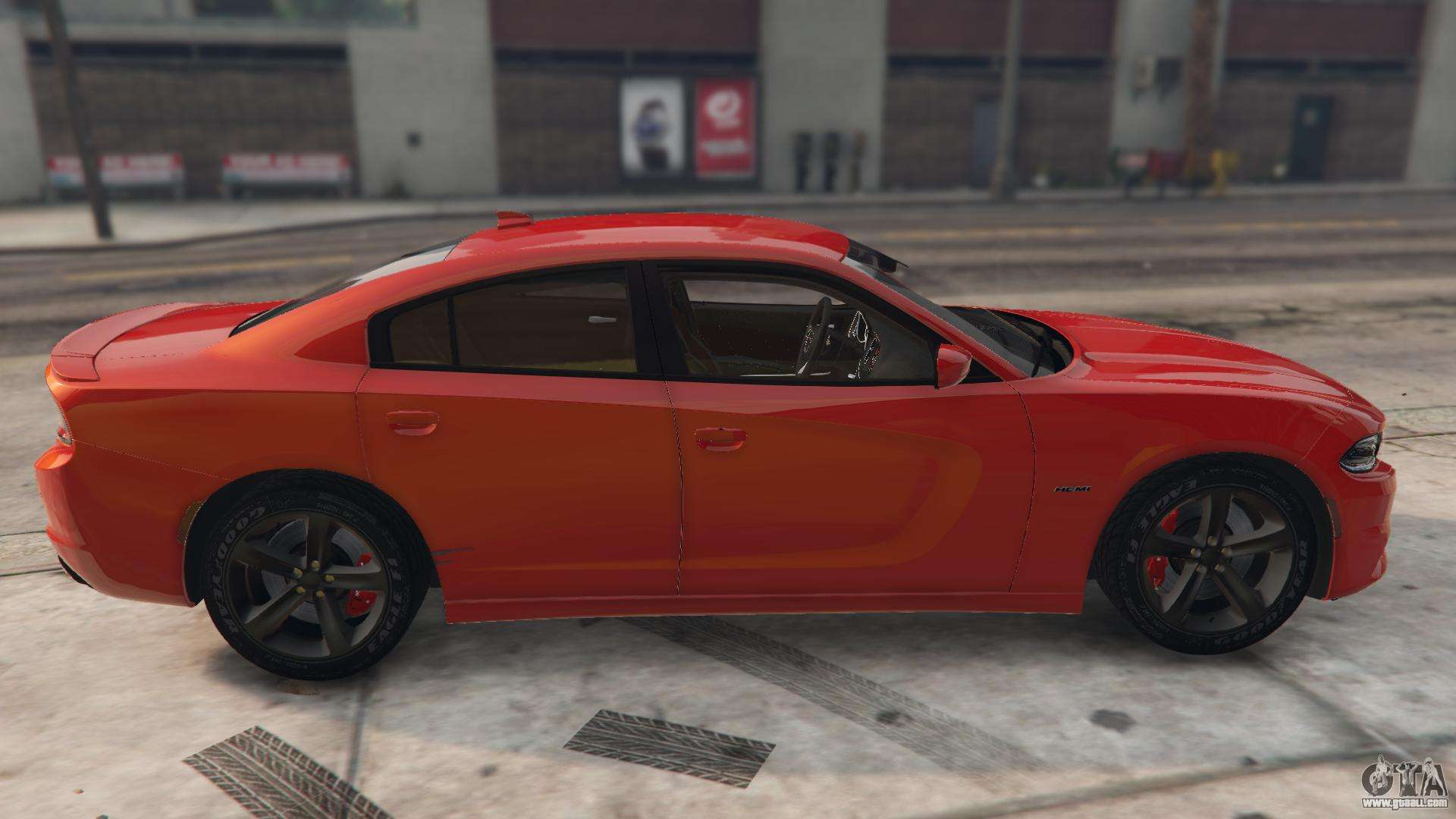 2016 Dodge Journey >> Dodge Charger Hellcat for GTA 5