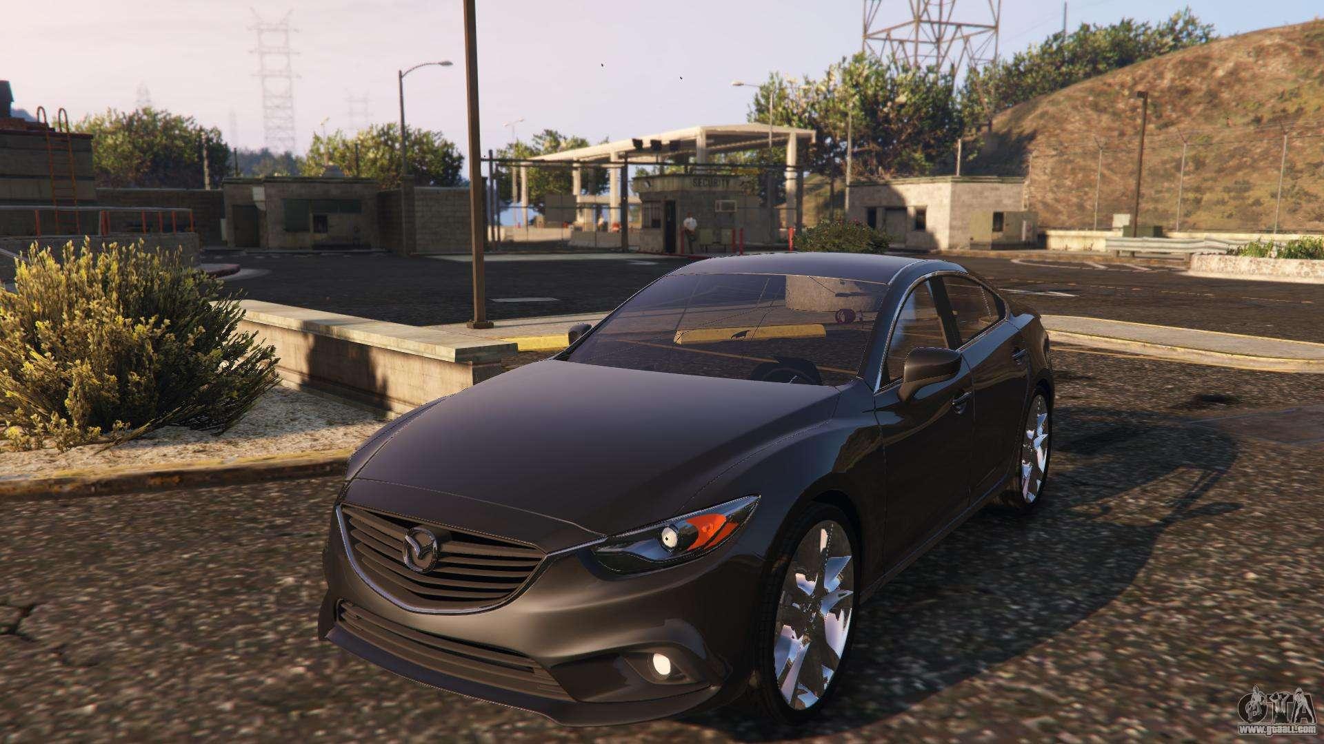 Gta 5 Custom Cars >> Mazda 6 2016 for GTA 5