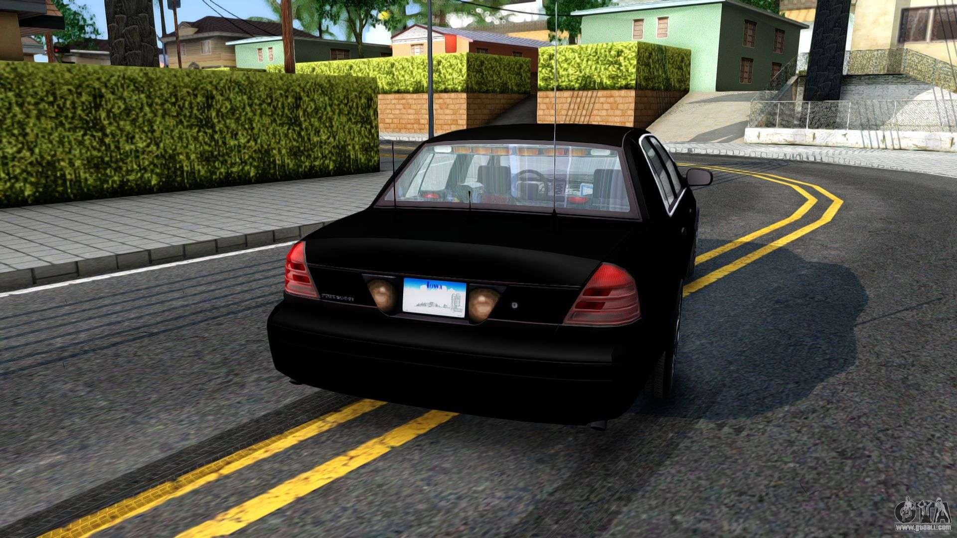 Ford Crown Victoria Ohsp Unmarked  For Gta San Andreas Left View