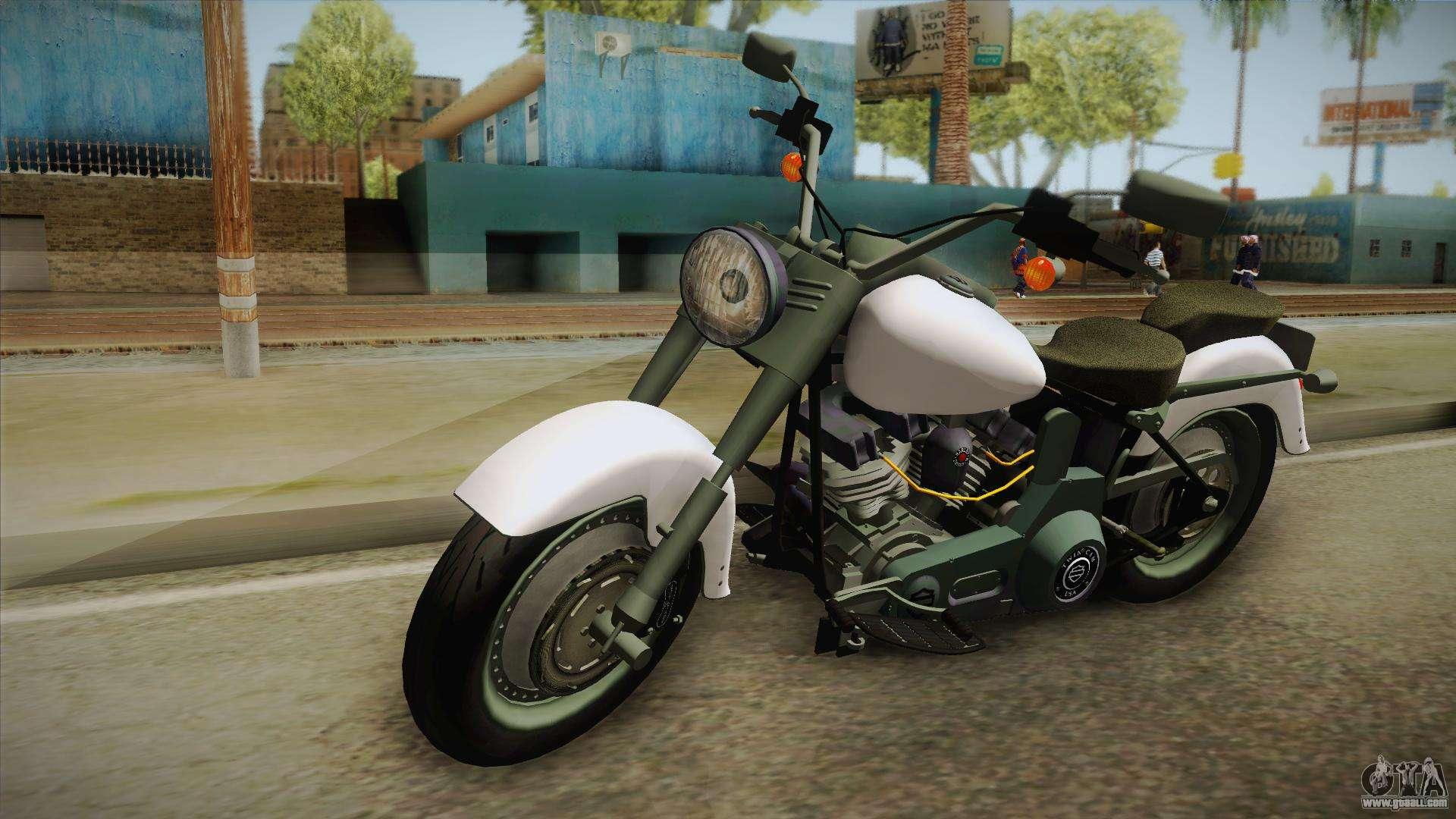 Gta V Harley Davidson Fatboy