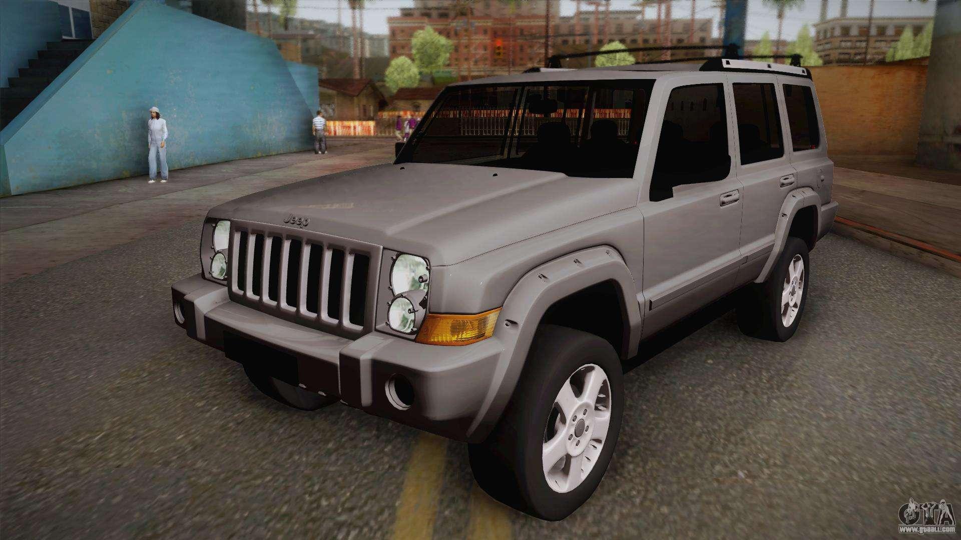 jeep commander 2010 for gta san andreas. Black Bedroom Furniture Sets. Home Design Ideas