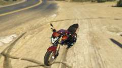 Honda CB 600F Hornet for GTA 5