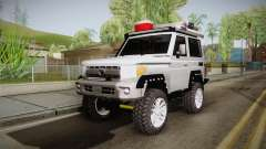 Toyota Land Cruiser Machito 2013 Sound Y for GTA San Andreas