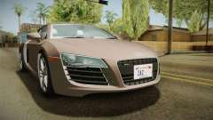 Audi R8 Coupe 4.2 FSI quattro US-Spec v1.0.0 v4 for GTA San Andreas