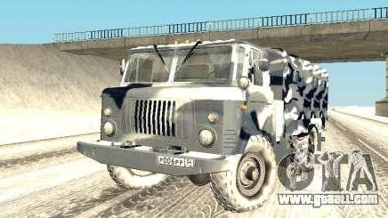GAZ-66 for GTA San Andreas