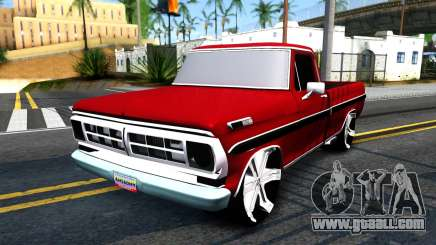 Ford F100 1975 for GTA San Andreas