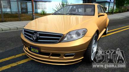 GTA V Benefactor Schafter Wagon for GTA San Andreas