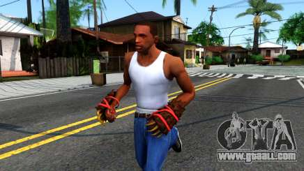 Red Bear Claws Team Fortress 2 for GTA San Andreas