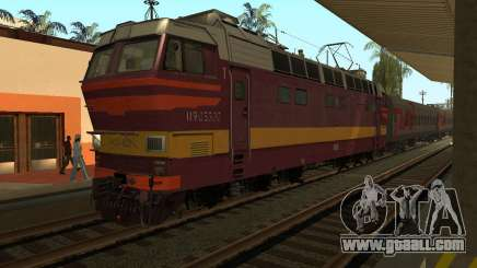 Passenger locomotive CHS4t-521 for GTA San Andreas