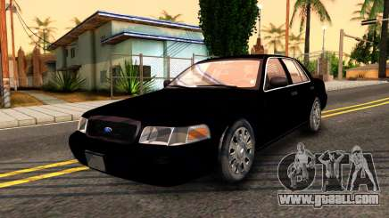 Ford Crown Victoria Detective 2008 for GTA San Andreas