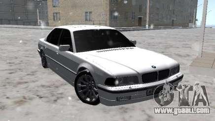 BMW 740I for GTA San Andreas