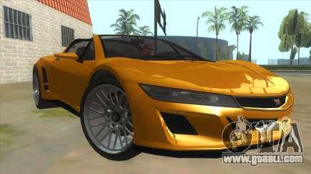 GTA V Dynka Jester Spider for GTA San Andreas