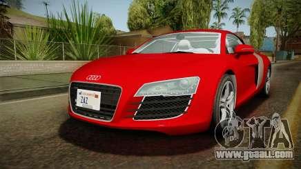 Audi R8 Coupe 4.2 FSI quattro EU-Spec 2008 YCH2 for GTA San Andreas