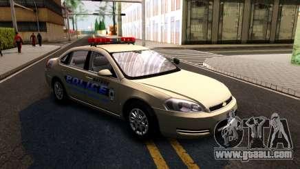 2007 Chevy Impala Bayside Police for GTA San Andreas