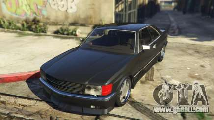 Mercedez-Benz 560 SEC for GTA 5