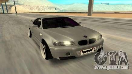 Nissan Silvia S15 Face BMW 46 for GTA San Andreas