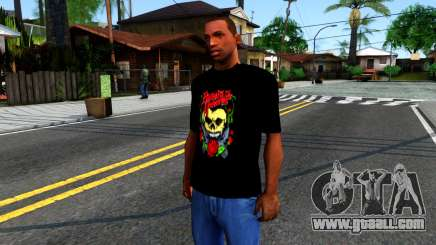 Bullet For My Valentine T-shirt for GTA San Andreas