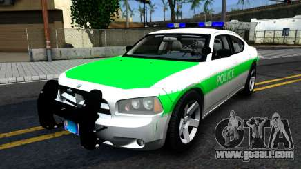 Dodge Charger German Police 2008 for GTA San Andreas