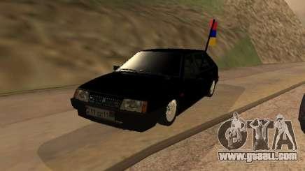 VAZ 2109 Armenian for GTA San Andreas