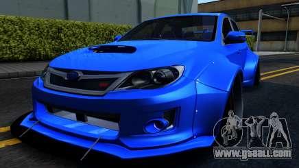 Subaru WRX STi Widebody for GTA San Andreas