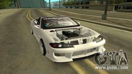Nissan Silvia s15 Kabrio for GTA San Andreas