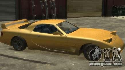 ZR 350 GTA San Andreas v1.0 for GTA 4