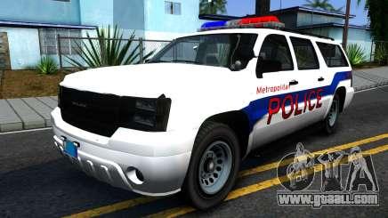 Declasse Granger Metropolitan Police 2012 for GTA San Andreas