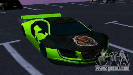 AUDI R8 LMS SPORTS for GTA San Andreas