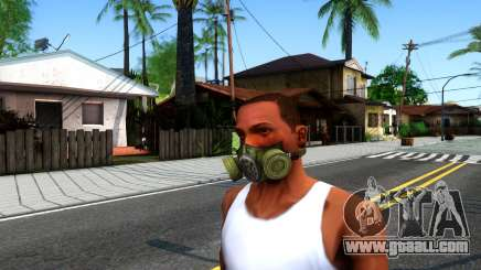 Gas Mask From S.T.A.L.K.E.R. Clear Sky for GTA San Andreas
