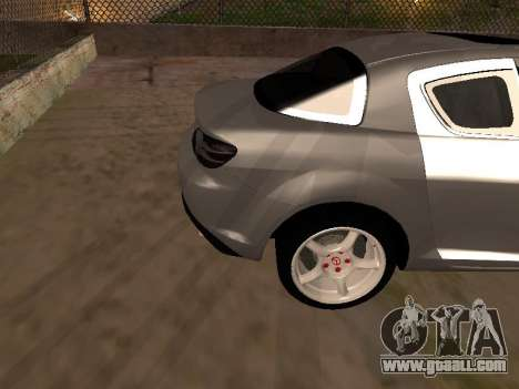 Mazda RX-8 for GTA San Andreas side view