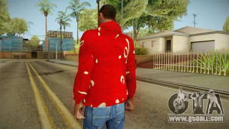 Christmas sweatshirt for GTA San Andreas second screenshot