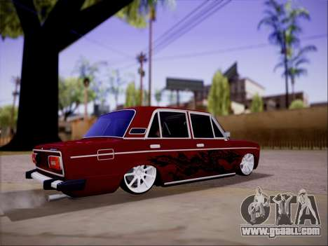 VAZ 2106 dragon for GTA San Andreas