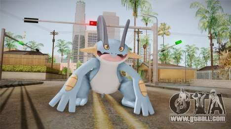 Pokémon XY - Swampert for GTA San Andreas second screenshot