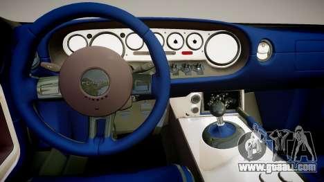 2006 Ford GTX1 for GTA 4 inner view