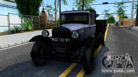 GAZ-MM 1940 for GTA San Andreas