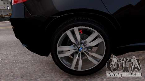 BMW X6M by DesertFox v.1.0 for GTA 4 back view