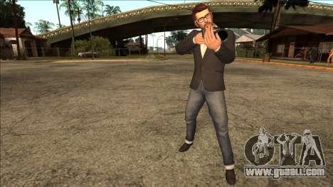 Life Is Strange - Mark Jefferson Regular for GTA San Andreas third screenshot