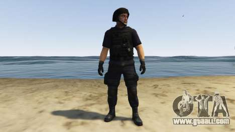 GTA 5 LAPD SWAT Ped