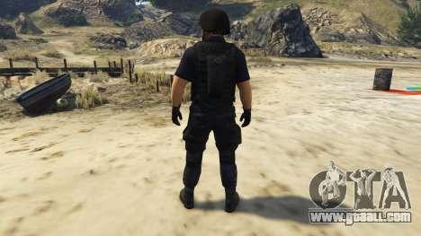 GTA 5 LAPD SWAT Ped third screenshot