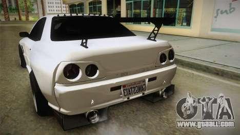 GTA 5 Annis Elegy Retro Custom for GTA San Andreas side view