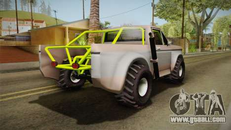 Sandy Racer v.1.5 for GTA San Andreas