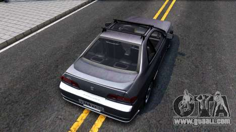 Honda Prelude for GTA San Andreas back view