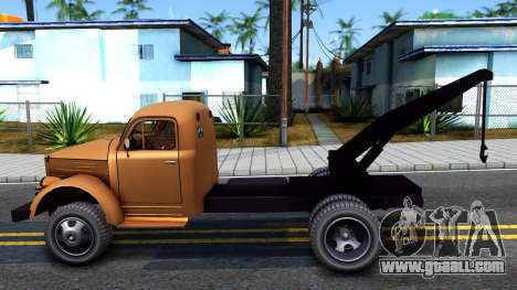 GAZ-51 Tow truck for GTA San Andreas left view